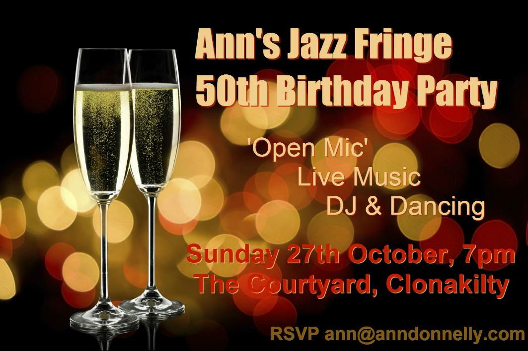 Ann's Jazz Fringe 50th Birthday Party